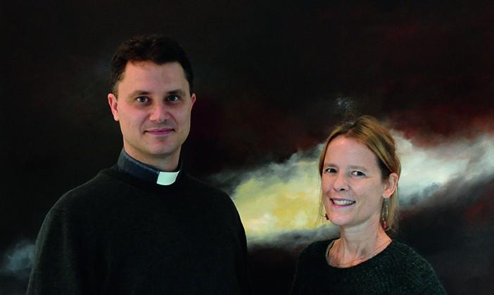 Benoit de Baenst et Aude Carre-Sourty, auteurs de Au coeur du Mystère
